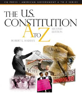 The US Constitution A-Z Second Edition by Robert L. Maddex
