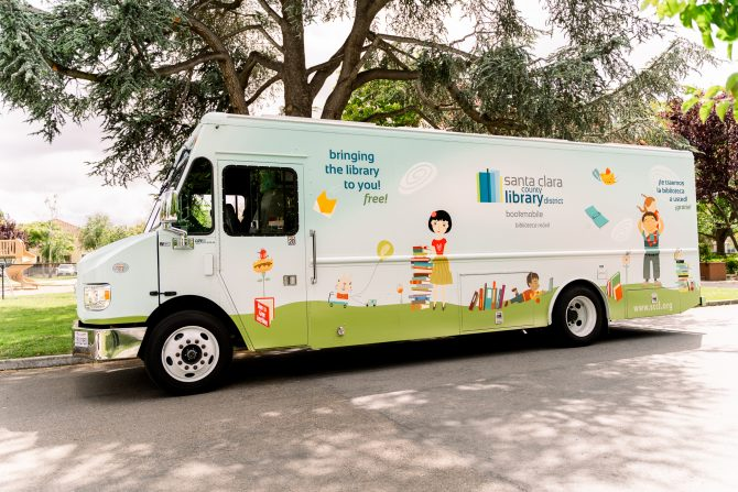 Santa Clara County Library Bookmobile